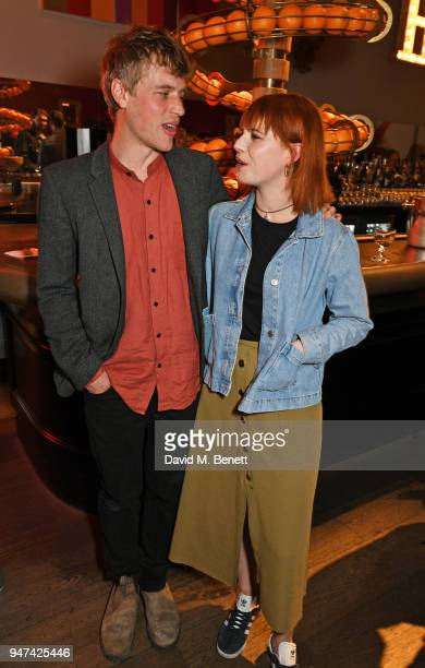 Johnny Flynn and Jessie Buckley attend a special preview screening of 'Beast' at the Ham Yard Hotel on April 16 2018 in London England