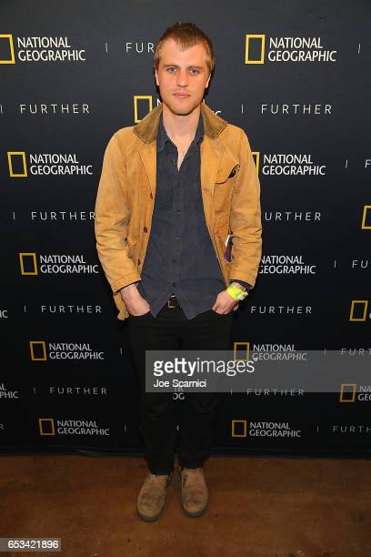 Johnny Flynn attends the 'Nat Geo Further Base Camp' at SXSW 2017 day 5 on March 14 2017 in Austin Texas