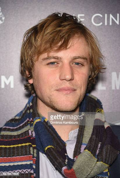 Johnny Flynn attends the premiere of the Film Arcade Cinedigm's 'Song One' hosted by the Cinema Society Tod's at Landmark's Sunshine Cinema on...