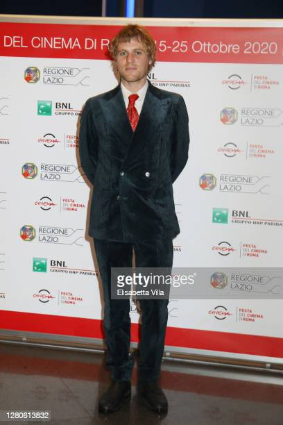 Johnny Flynn attends the premiere of the movie Stardust during the 15th Rome Film Festival on October 16 2020 in Rome Italy