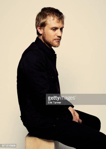 Johnny Flynn from 'Genius' poses at the 2017 Tribeca Film Festival portrait studio on April 21 2017 in New York City