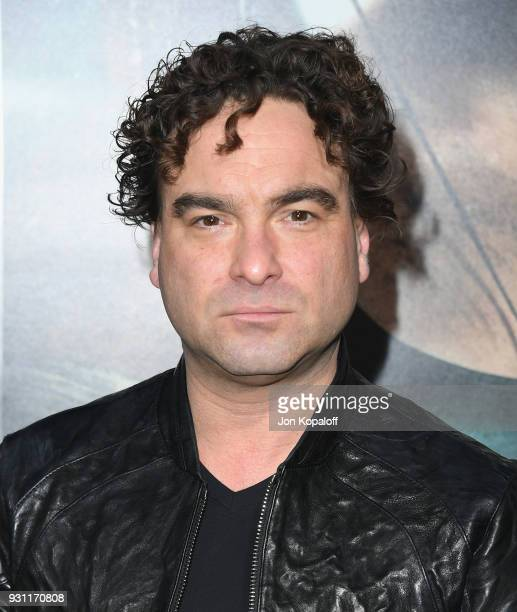 Johnny Galecki attends the Los Angeles Premiere 'Tomb Raider' at TCL Chinese Theatre IMAX on March 12 2018 in Hollywood California