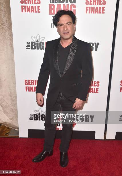"Johnny Galecki attends the series finale party for CBS' ""The Big Bang Theory"" at The Langham Huntington, Pasadena on May 01, 2019 in Pasadena,..."