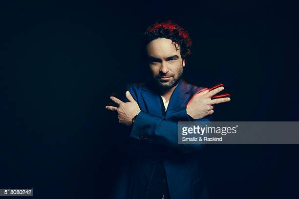 Johnny Galecki poses for a portrait in the Getty Images SXSW Portrait Studio Powered By Samsung on March 13 2016 in Austin Texas