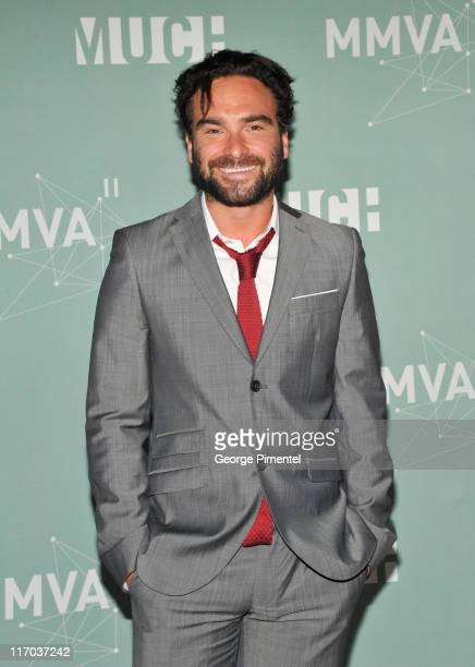 Johnny Galecki poses in the press room at the 22nd Annual MuchMusic Video Awards at the MuchMusic HQ on June 19, 2011 in Toronto, Canada.