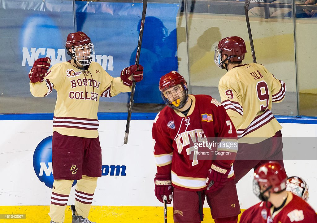 2014 NCAA Division I Men's Ice Hockey Championship - Northeast Regional : News Photo