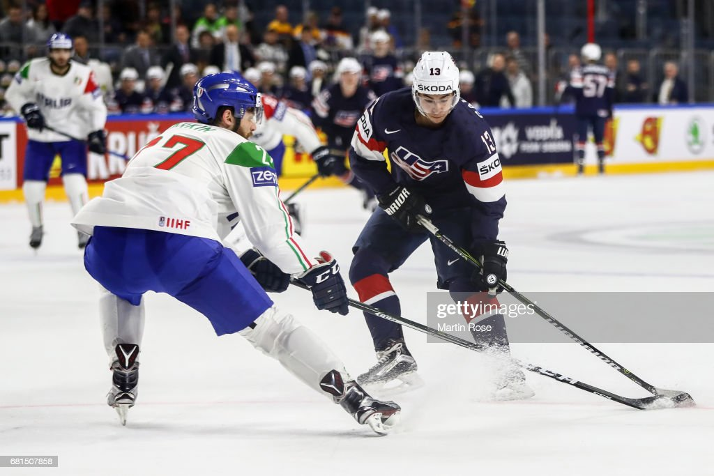 USA v Italy - 2017 IIHF Ice Hockey World Championship