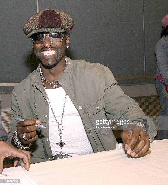 "Johnny Gill of New Edition during New Edition ""Brother to Brother"" HIV/AIDS Awareness Forum at Atlantic City Convention Center in Atlantic City NJ..."