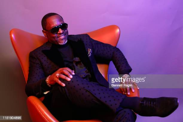 Johnny Gill poses for a portrait during the BET Awards 2019 at Microsoft Theater on June 23 2019 in Los Angeles California