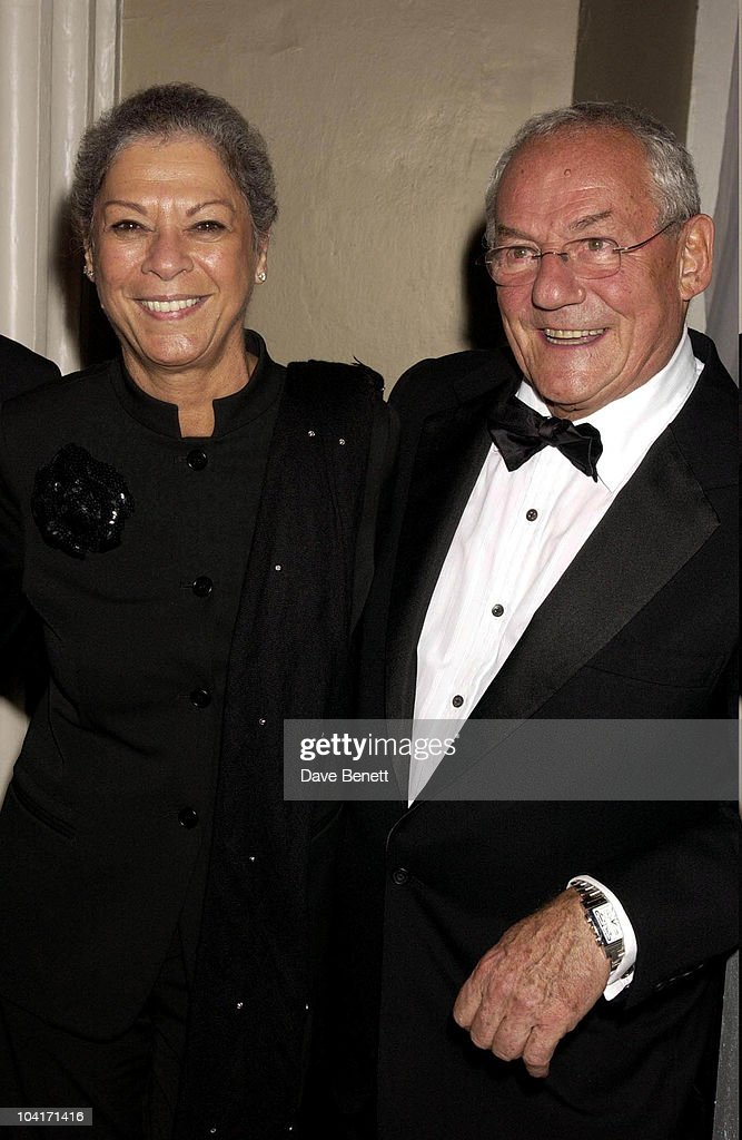 Johnny Gold With His Wife Jan (who Has Fully Recovered From A Cancer Scare), Jerry Springer Opera In The West End Opens At The Cambridge Theatre In Covent Garden, Then Party At The Whitehall Banquetting Rooms