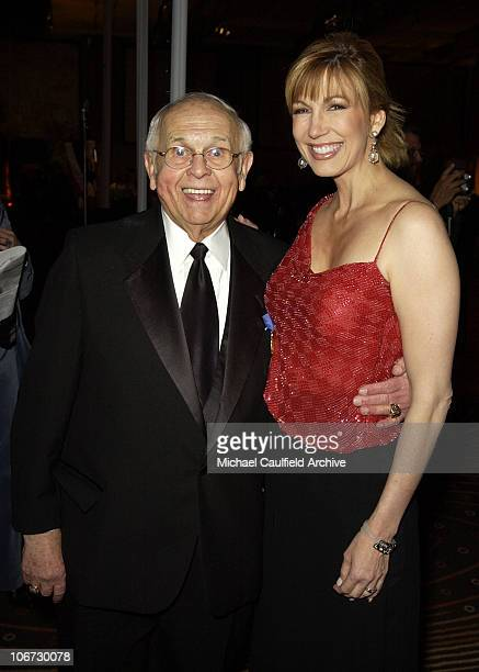 Johnny Grant and Leeza Gibbons during Salute to Johnny Grant Happy 80th Birthday Staged by the Hollywood Entertainment Museum Inside at Kodak Theatre...