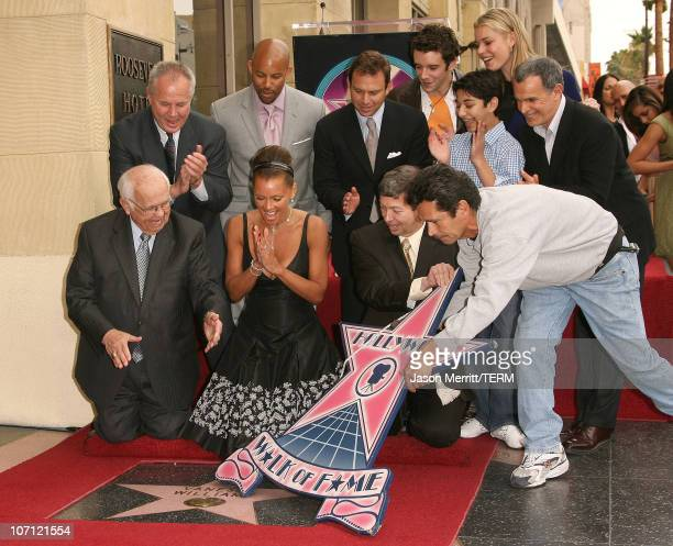 Johnny Grant and Vanessa Williams during Vanessa Williams Celebrates Her Birthday With a Star On The Hollywood Walk of Fame at Hollywood Blvd in...