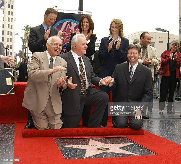 Johnny Grant Anthony Hopkins Leron Gubler1st row Gary Sinise Stella Hopkins Jodie Fosterback row