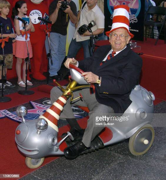 Johnny Grant at the Dr Seuss Star on Hollywood Walk of Fame