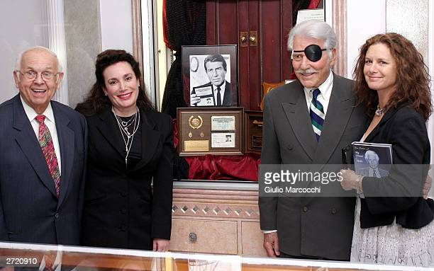 Johnny Grant Donelle Dadigan Efrem Zimbalist Jr and Stephanie Zimbalist Jr attend My Dinner of Herbs by Efrem Zimbalist Jr event at The Hollywood...