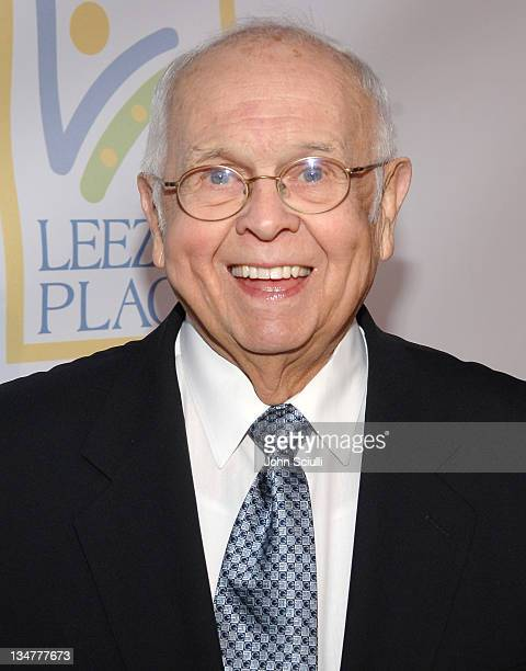 Johnny Grant during Grand Opening Of The Assistance League 'Leeza's Place' In Hollywood in Los Angeles CA United States