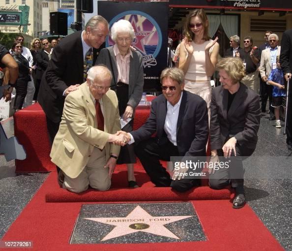 Johnny Grant, Harrison Ford, mom Dorothy & Calista ...