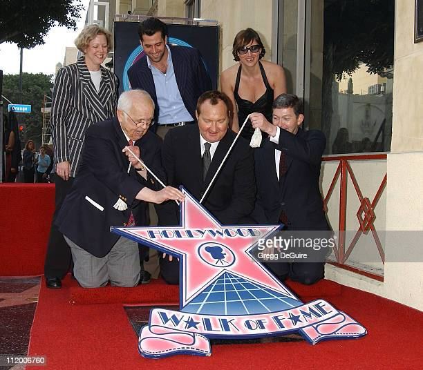 Johnny Grant Honorary Mayor of Hollywood and chairman of the Walk of Fame Committee Randy Quaid Leron Gubler President/CEO of the Hollywood Chamber...
