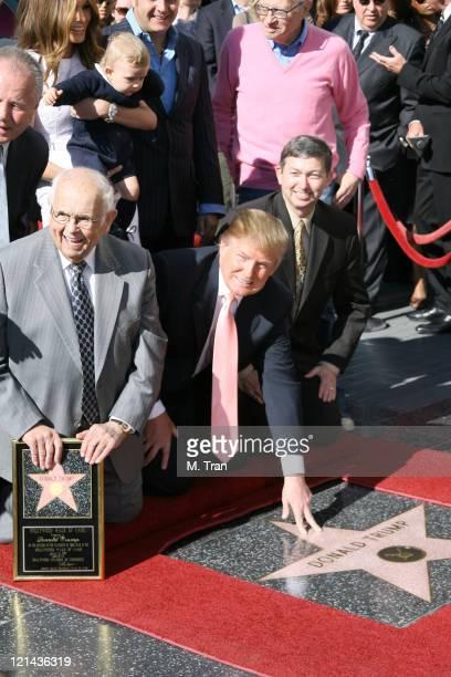 Johnny Grant Honorary Mayor of Hollywood and Donald Trump