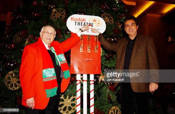 Johnny Grant, Honorary Mayor of Hollywood and Joe Mantegna