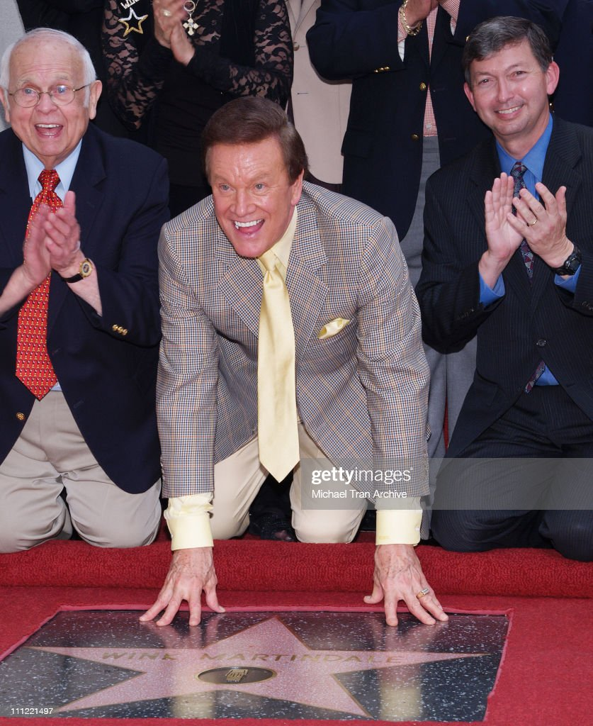 Johnny Grant, Honorary Mayor of Hollywood, Wink Martindale and Leron Gubler