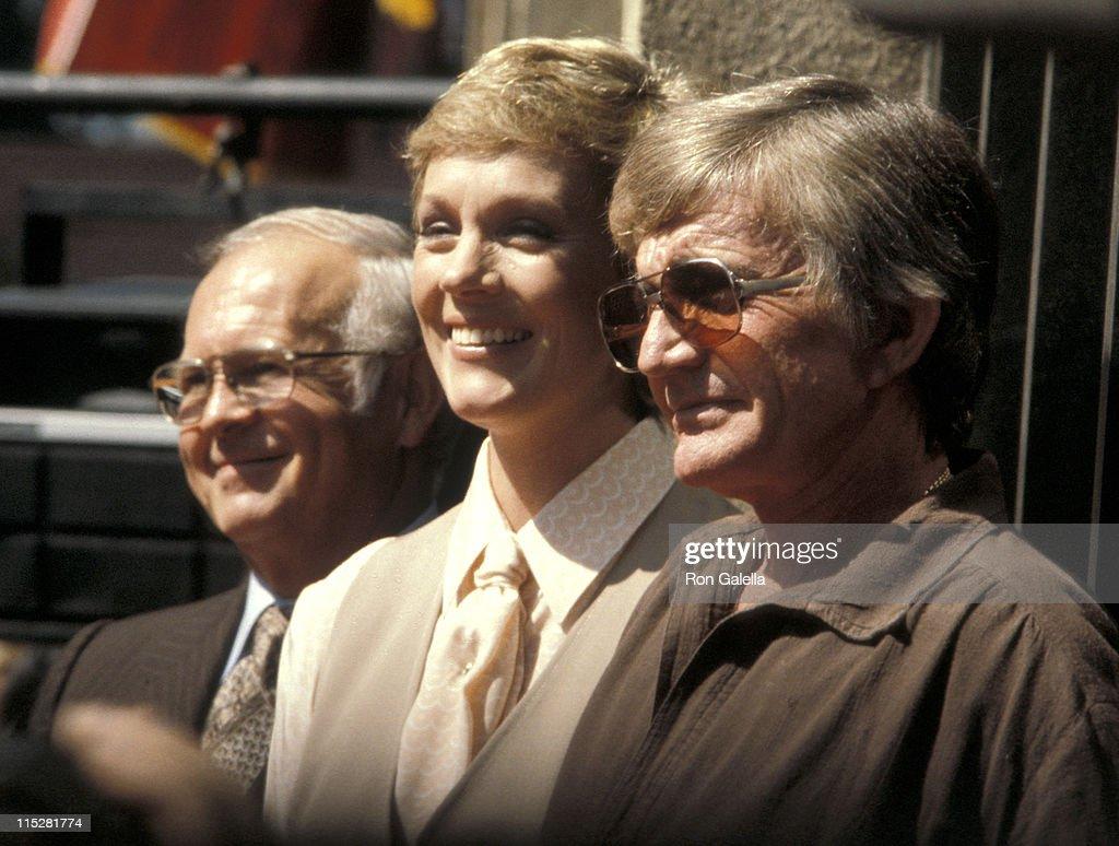 Johnny Grant, Julie Andrews, and Blake Edwards