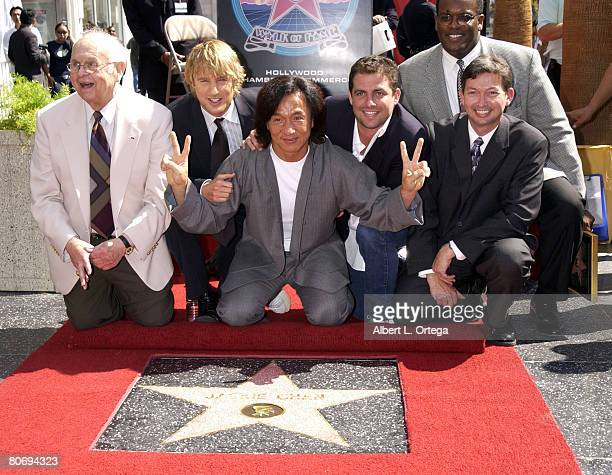 Jackie Chan Honored With A Star On The Hollywood Walk Of Fame For