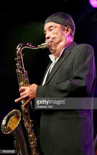 Johnny Griffin in concert during the North Sea Jazz Festival at Ahoy' in Rotterdam, The Netherlands July 14, 2007.