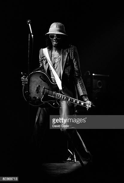 Johnny 'Guitar' Watson performing at the Town Country Club on June 18 1987 in London