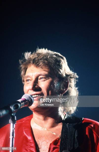 Johnny Halliday Vorst Nationaal Brussels Belgium