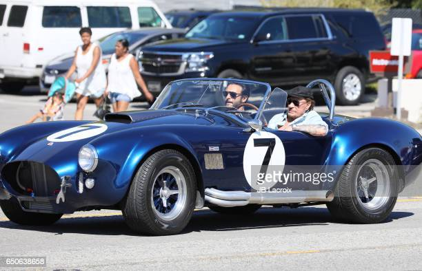 Johnny Hallyday and Maxim Nucci aka Yodelice are seen in Malibu on March 09 2017 in Los Angeles California