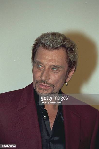 Johnny Hallyday costar of the movie at the UGC Cine Cite Bercy