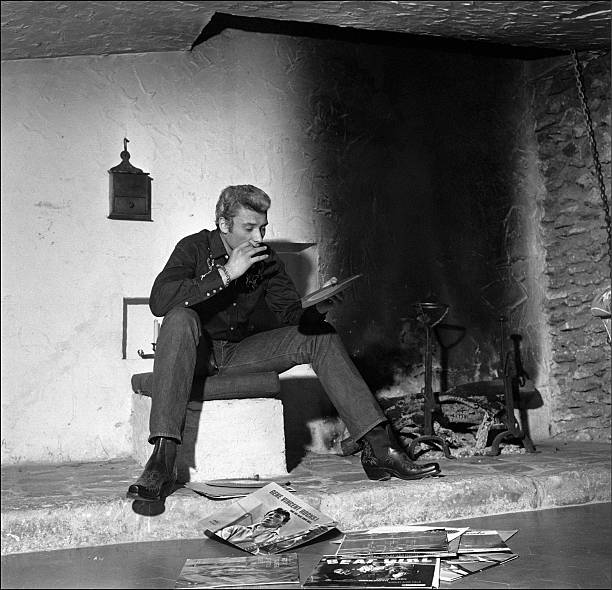 Johnny Hallyday in the sixties in France.