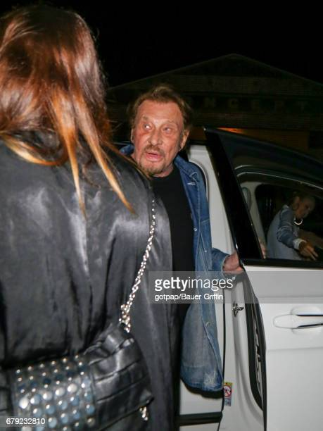 Johnny Hallyday is seen on May 04 2017 in Los Angeles California