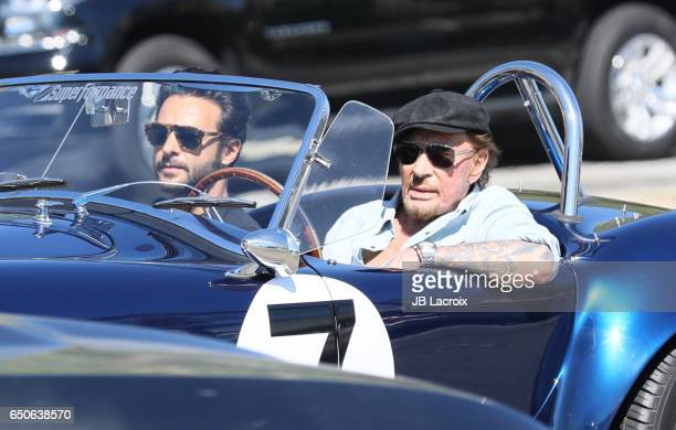 Johnny Hallyday is seen in Malibu on March 09 2017 in Los Angeles California