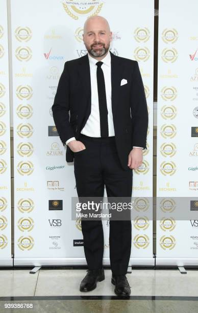 Johnny Harris attends the National Film Awards UK at Portchester House on March 28 2018 in London England