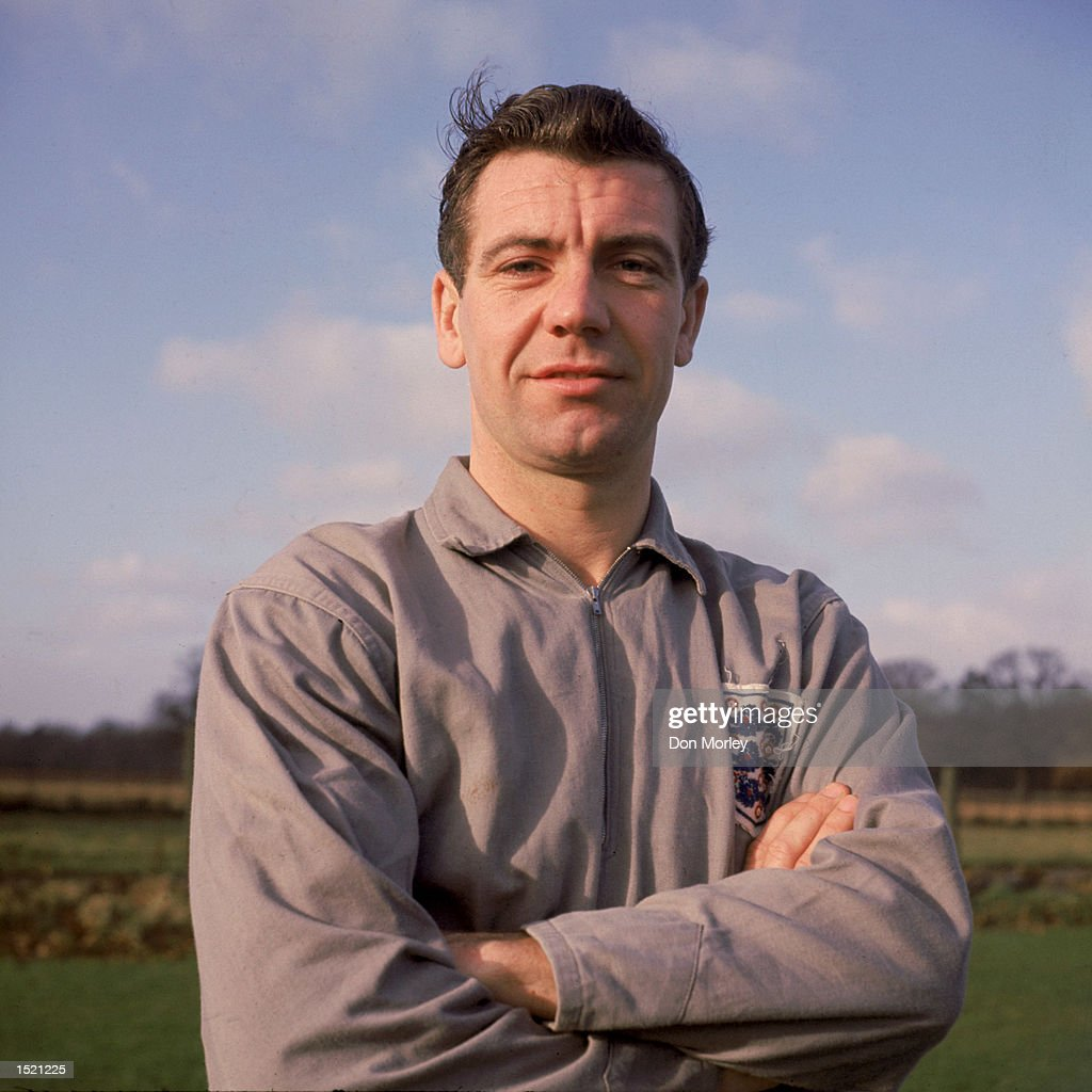 Johnny Haynes of England. \ Mandatory Credit: Don Morley/Allsport
