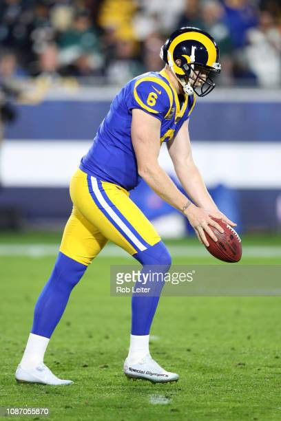 Johnny Hekker of the Los Angeles Rams punts during the game against the  Philadelphia Eagles at 5ea15c13b