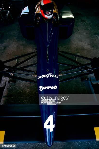 Johnny Herbert BenettonFord B188 Grand Prix of Portugal Autodromo do Estoril 24 September 1989