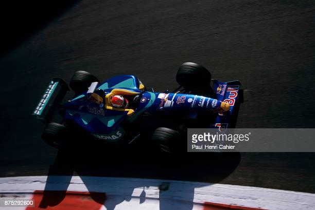 Johnny Herbert, Sauber-Petronas C17, Grand Prix of Italy, Autodromo Nazionale Monza, 13 September 1998.