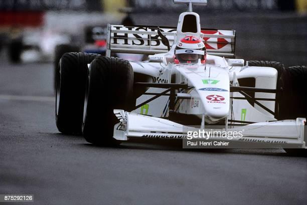 Johnny Herbert, Stewart-Ford SF3, Grand Prix of Europe, Nurburgring, 26 September 1999. Johnny Herbert, winner of the 1999 European Grand Prix at the...