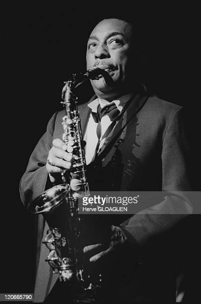 Johnny Hodges in Paris France in 1964 Johnny Hodges Jazzman Theatre des ChampsElysees