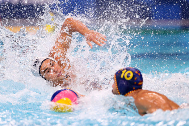 JPN: Water Polo - Olympics: Day 12