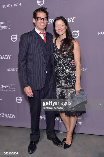 Johnny Knoxville and Naomi Nelson at the 2018 Baby2Baby Gala Presented by Paul Mitchell at 3LABS on November 10 2018 in Culver City California