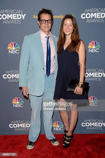 Johnny Knoxville and Naomi Nelson attend 2014 American Comedy Awards at Hammerstein Ballroom on April 26, 2014 in New York City.