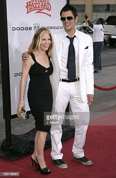 """Johnny Knoxville and wife Melanie during """"The Dukes Of Hazzard"""" Los Angeles Premiere - Arrivals at Grauman's Chinese Theatre in Hollywood,..."""
