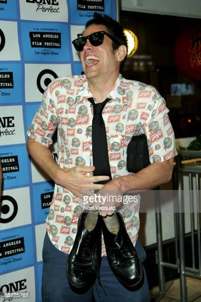 """Johnny Knoxville attends the 2009 Los Angeles Film Festival's screening of """"The Wild and Wonderful Whites of West Virginia Red"""" at the Majestic Crest..."""