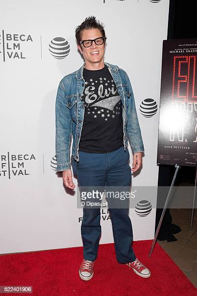Johnny Knoxville attends the 'Elvis Nixon' premiere during the 2016 Tribeca Film Festival at John Zuccotti Theater at BMCC Tribeca Performing Arts...