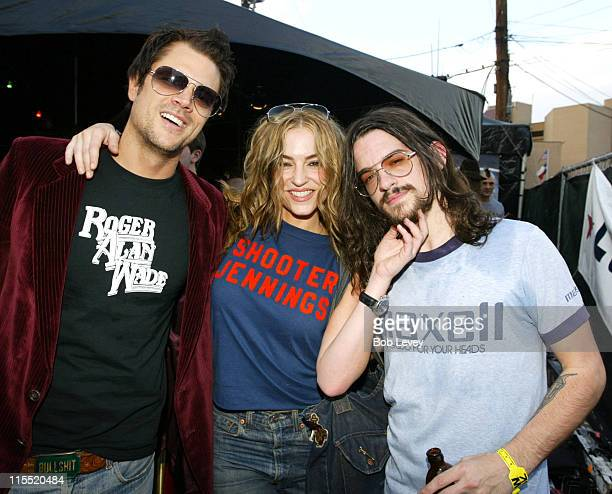 Johnny Knoxville Drea de Matteo and Shooter Jennings