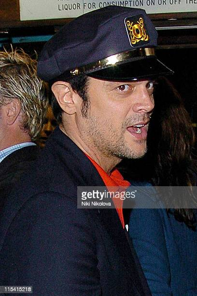 Johnny Knoxville during 'The Dukes of Hazzard' London Premiere After Party at Texas Embassy Cantina in London United Kingdom